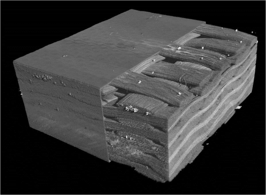 Рисунок 1 – 3D модель композитного материала