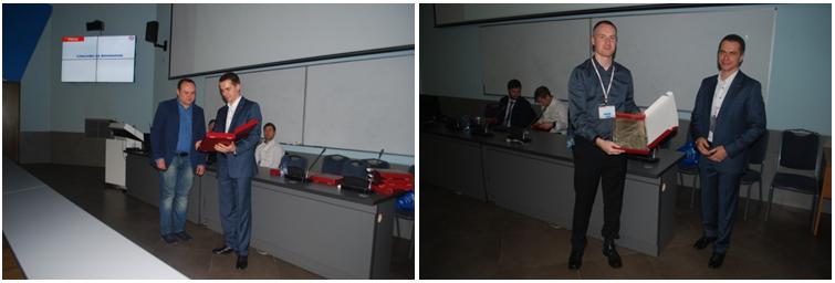 Традиционно конференция завершилась вручением дипломов спикерам и благодарностей - соорганизаторам
