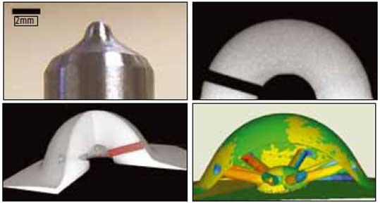 Рисунок 2 - компьютерная томография и анализ компонентов дизельного инжектора