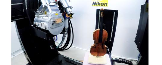 Ласковый звук рентгеновской компьютерной томографии</br>Nikon Metrology помогает исследовать 280-летнюю скрипку