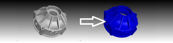 Преобразование объёма данных КТ в 3Dмодель.
